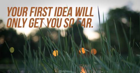 first-idea