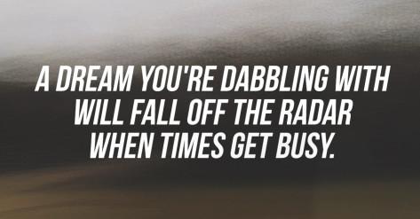 dabbling